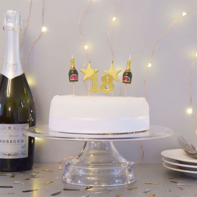 Cadeau 18 ans - Bougies d'anniversaire pour les 18, 21 ou 30 ans