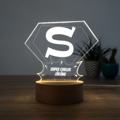 Éclairage - Lampe LED Superman
