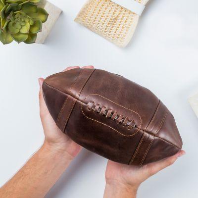 Cadeau frère - Trousse en cuir – Ballon de Football Américain
