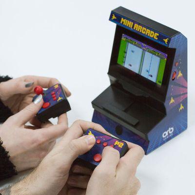 Jeux & Farces - Console Mini-Arcade 2 Manettes