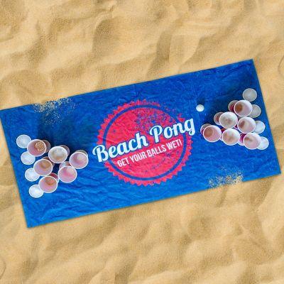 Été - Serviette Beach Pong