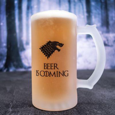 Tasses et Verres exclusifs - Chope de bière personnalisable loup
