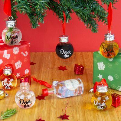 Sale - Boules à Liqueur pour Sapin de Noël