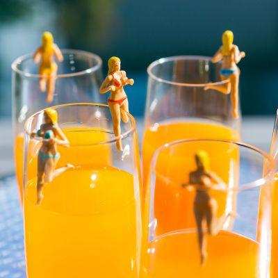 Cadeau 50 ans - Bosom Buddies pour Cocktails