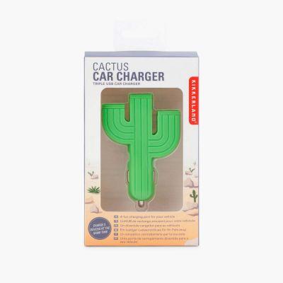 Cadeau frère - Chargeur USB pour Allume-cigare Cactus