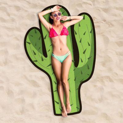 Accessoires de plage - Serviette de plage Cactus