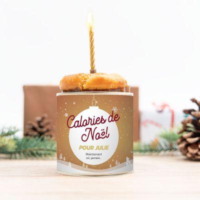 Petites douceurs personnalisées - Cancake pour Noël