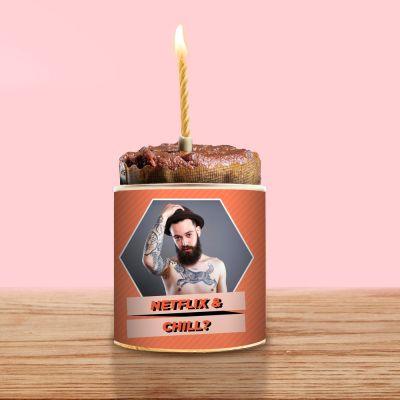 Sale - Cancake avec Photo et Texte