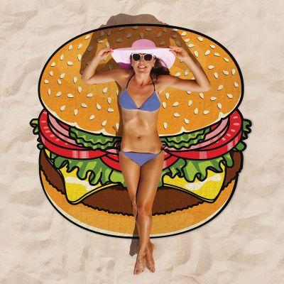 Accessoires pour le plein air - Serviette de plage Cheeseburger