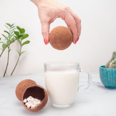 Bonbons - Bombes à chocolat chaud