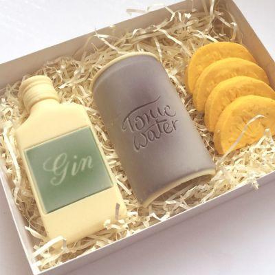 Cadeaux de Noël pour maman - Gin Tonic en Chocolat