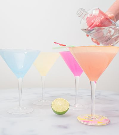 Décoration fete - Verres à cocktail lot de 4