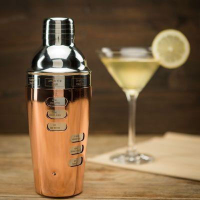 Accessoires de bar - Cocktail Shaker Design avec Recettes