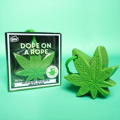 Cadeau fou - Savon feuille de cannabis