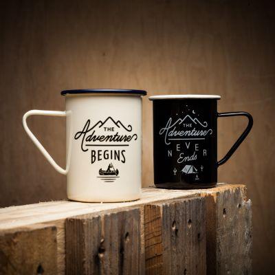Accessoires de Camping & Outdoor - Tasses émaillées Aventure