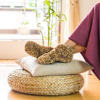 Cadeaux de Noël pour copine - Pantoufles chauffantes