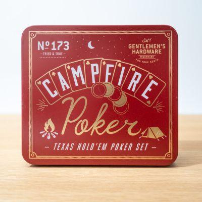 Jeux & Farces - Set de Poker pour le Camping
