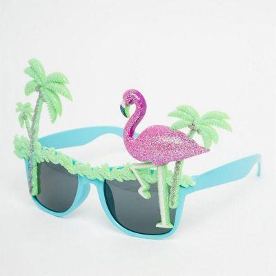 Accessoires de plage - Lunettes de soleil Flamant avec Palmiers