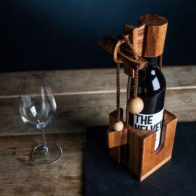 Cadeau de Noël pour homme - Puzzle casse-tête bouteille