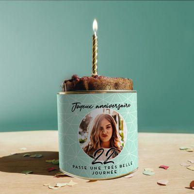 Cadeau 50 ans - Cancake Personnalisable pour Anniversaire