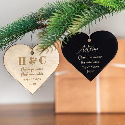 Produits exclusifs - Décoration de Noël avec coeur