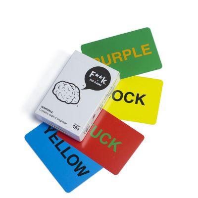 Jeux & Farces - Jeu de Cartes F**K the Game