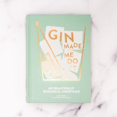 Cadeau couple - Livre de Cocktails Gin Made Me Do It