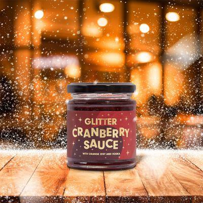 Sale - Sauce aux Canneberges avec Paillettes