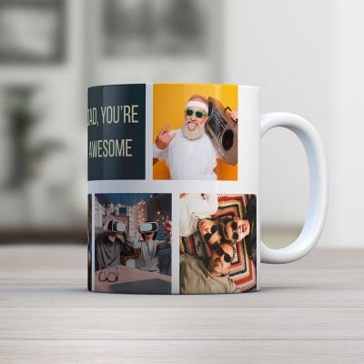 Cadeau papa - Tasse Photo Personnalisable