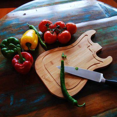 Accessoire Barbecue - Planche à découper Guitare