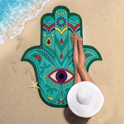 Accessoires pour le plein air - Serviette de plage Main de Fatima