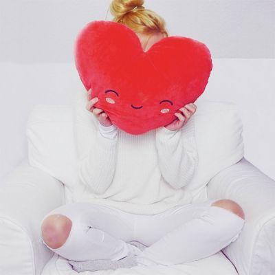 Cadeau Saint Valentin Femme - Coussin Chauffant Cœur