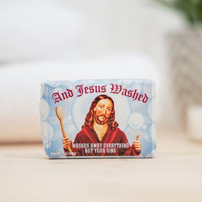 Idées cadeaux pour mettre dans le calendrier de l'avent - And Jesus Washed Seife