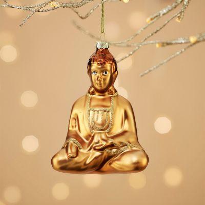 Decoration de Noël - Boule de Noël Bouddha