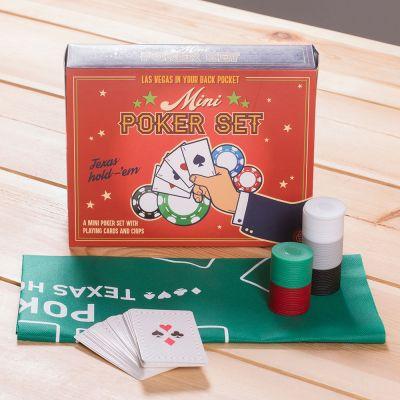Cadeau homme - Mini Coffret de Poker