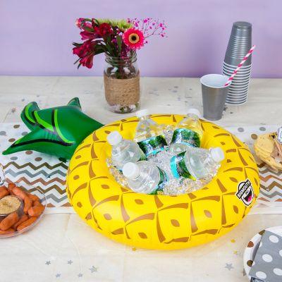 Accessoires de plage - Mini Snack-Bar gonflable Ananas