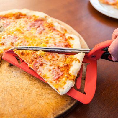 Cadeau frère - Ciseaux à pizza avec spatule