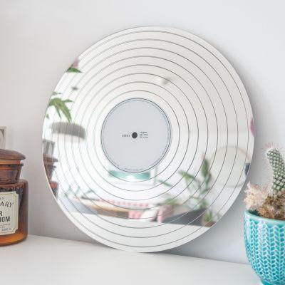 Objets Rétro & Vintage - Miroir Disque de Platine