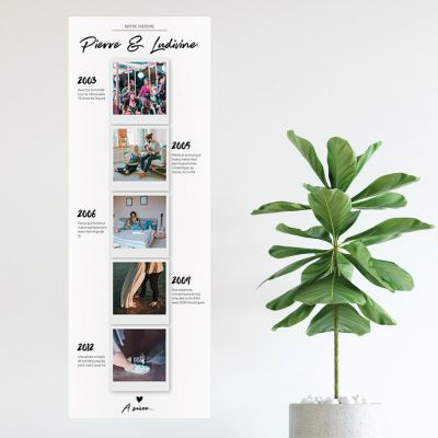 Posters exclusifs - Poster photo personnalisable – Notre histoire