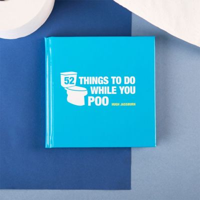 Cadeaux rigolos - Livre 52 Things To Do While You Poo