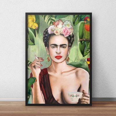 Posters - Frida Poster par Nettsch
