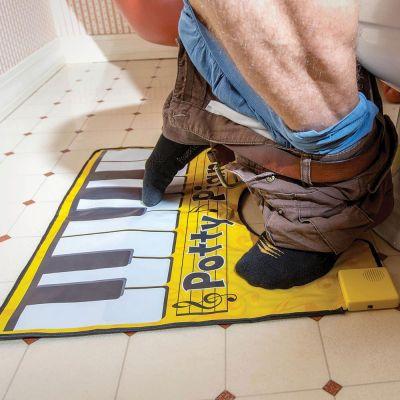Salle de bains - Tapis de Toilettes Piano