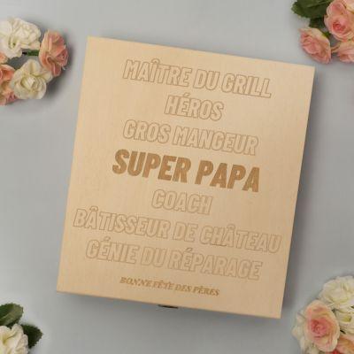 Bonbons - Boîte à Chocolats Personnalisable avec Texte