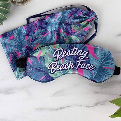 Été - Masque de nuit pour la plage avec pochette