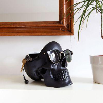 Décoration & Mobilier - Vide poche Crâne Noir