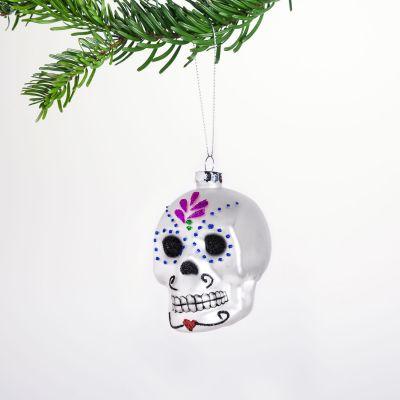 Decoration de Noël - Boule de Noël Sugar Skull