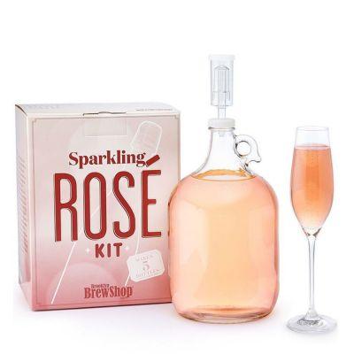 Vin Pétillant Rosé à faire soi-même