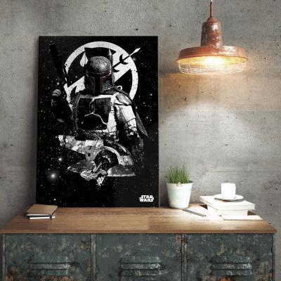 L'univers Star Wars - Poster métallique Star Wars – Slave 1 Boba Fett