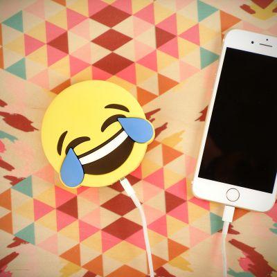 Cadeau Anniversaire Copine - Chargeur pour Smartphone - Émoticône