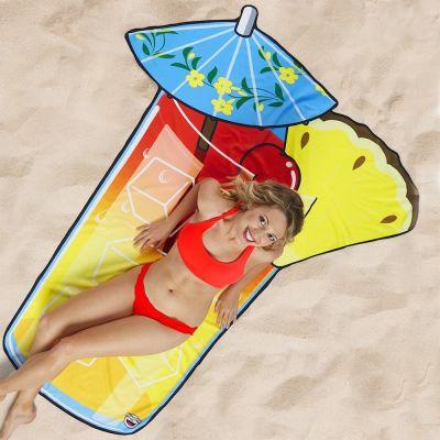 Accessoires pour le plein air - Serviette de plage Cocktail Estival